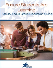 Faculty Focus Group Discussion Guide