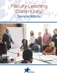 Faculty Learning Community cover
