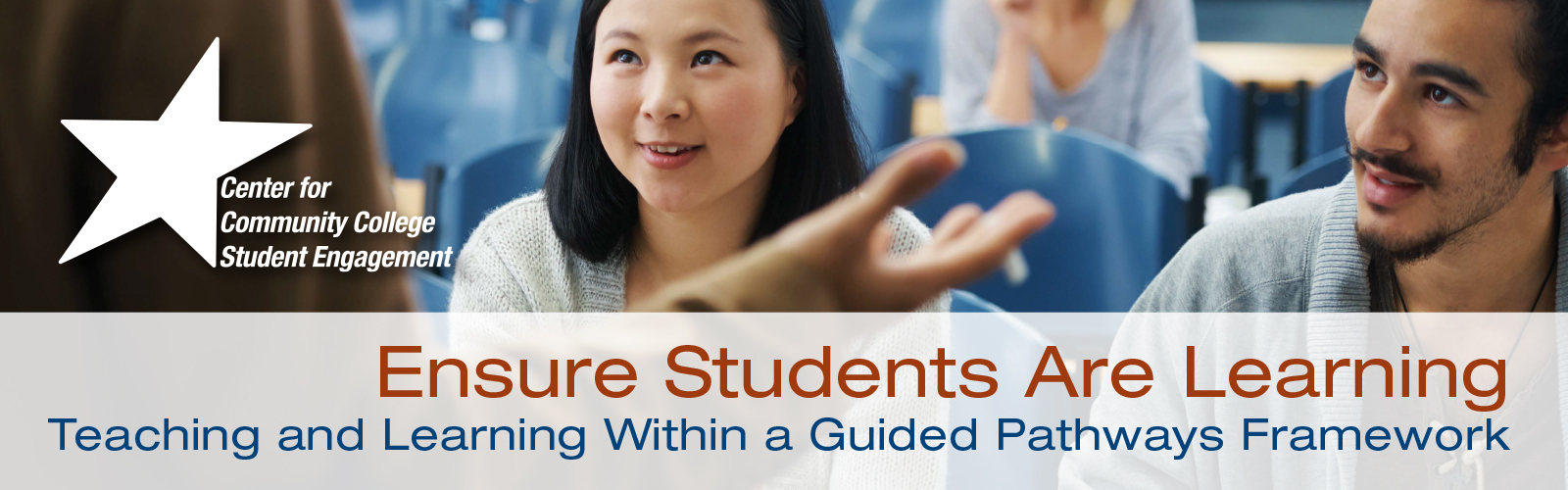 Teaching and Learning within Guided Pathways Banner