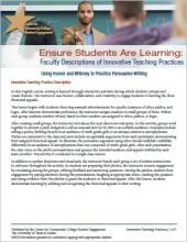 Ensure Students Are Learning: Faculty Descriptions of Innovative Teaching Practices: Using Humor and Whimsey to Practice Persuasive Writing