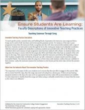Ensure Students Are Learning: Faculty Descriptions of Innovative Teaching Practices: Teaching Grammar Through Song