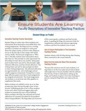Ensure Students Are Learning: Faculty Descriptions of Innovative Teaching Practices: Student Blogs on Padlet